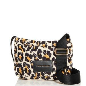 NWT MarcJacobs Quilted Leopard Print Shoulder Bag